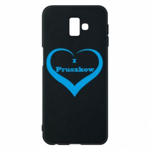 Phone case for Samsung J6 Plus 2018 I love Pruszkow