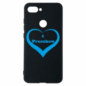 Phone case for Xiaomi Mi8 Lite I love Pruszkow