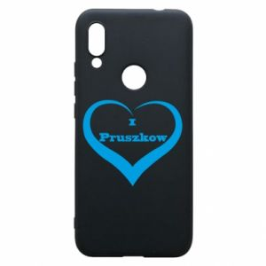 Phone case for Xiaomi Redmi 7 I love Pruszkow