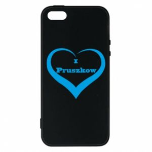 Etui na iPhone 5/5S/SE I love Pruszkow