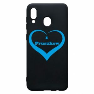 Phone case for Samsung A30 I love Pruszkow