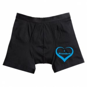 Boxer trunks I love Pruszkow