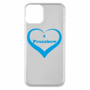 Etui na iPhone 11 I love Pruszkow
