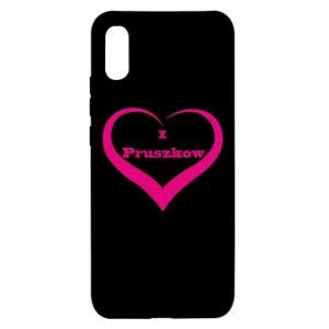 Etui na Xiaomi Redmi 9a I love Pruszkow