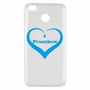 Etui na Xiaomi Redmi 4X I love Pruszkow