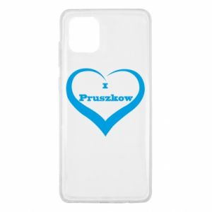 Samsung Note 10 Lite Case I love Pruszkow