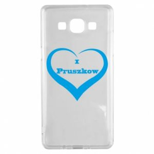 Samsung A5 2015 Case I love Pruszkow