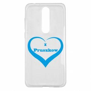 Etui na Nokia 5.1 Plus I love Pruszkow