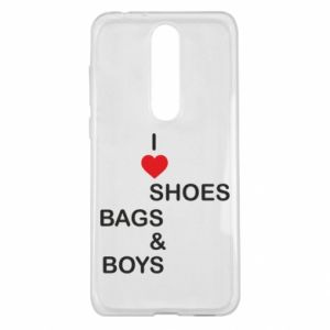 Etui na Nokia 5.1 Plus I love shoes, bags, boys