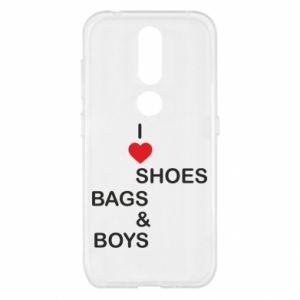 Etui na Nokia 4.2 I love shoes, bags, boys