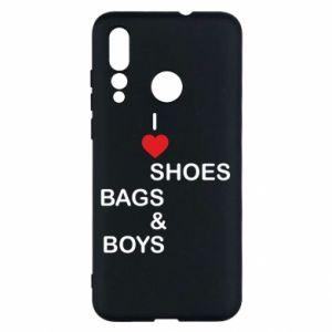 Etui na Huawei Nova 4 I love shoes, bags, boys