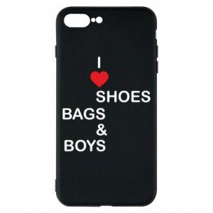 Etui na iPhone 8 Plus I love shoes, bags, boys