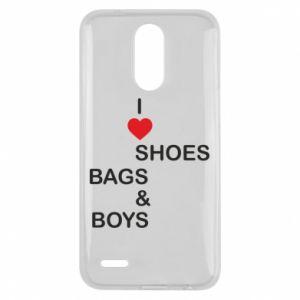 Etui na Lg K10 2017 I love shoes, bags, boys