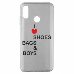 Etui na Huawei Honor 10 Lite I love shoes, bags, boys