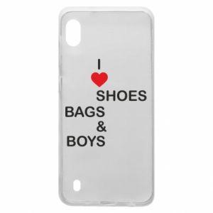 Etui na Samsung A10 I love shoes, bags, boys