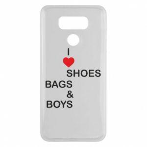 Etui na LG G6 I love shoes, bags, boys