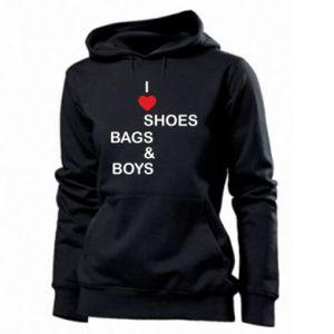 Damska bluza I love shoes, bags, boys