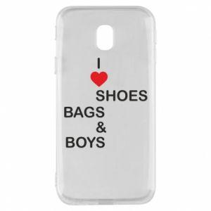 Etui na Samsung J3 2017 I love shoes, bags, boys