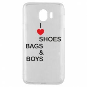 Etui na Samsung J4 I love shoes, bags, boys