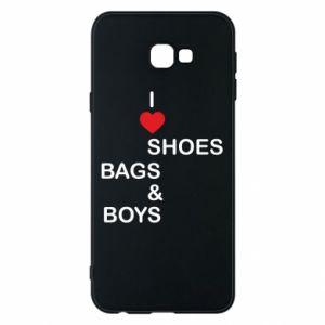 Etui na Samsung J4 Plus 2018 I love shoes, bags, boys