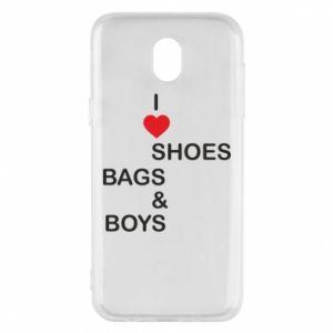 Etui na Samsung J5 2017 I love shoes, bags, boys