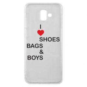 Etui na Samsung J6 Plus 2018 I love shoes, bags, boys
