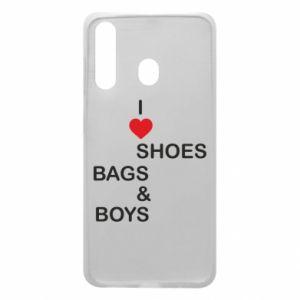 Etui na Samsung A60 I love shoes, bags, boys