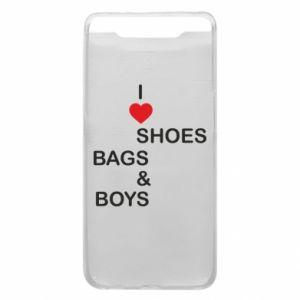 Etui na Samsung A80 I love shoes, bags, boys