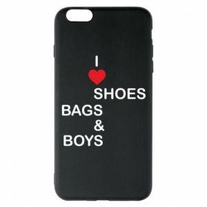Etui na iPhone 6 Plus/6S Plus I love shoes, bags, boys