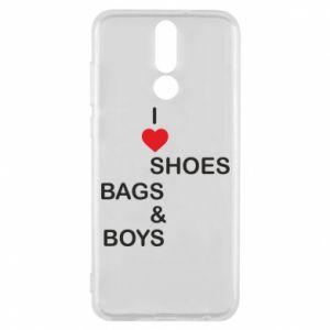 Etui na Huawei Mate 10 Lite I love shoes, bags, boys