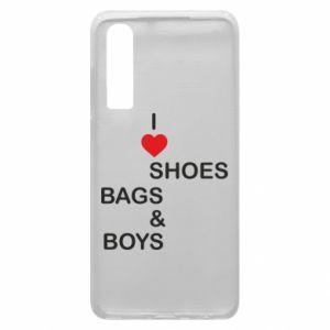 Etui na Huawei P30 I love shoes, bags, boys