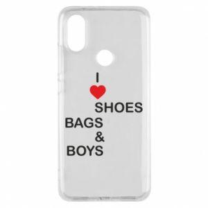Etui na Xiaomi Mi A2 I love shoes, bags, boys