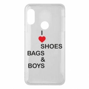 Etui na Mi A2 Lite I love shoes, bags, boys