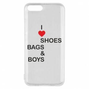Etui na Xiaomi Mi6 I love shoes, bags, boys