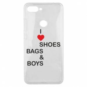 Etui na Xiaomi Mi8 Lite I love shoes, bags, boys
