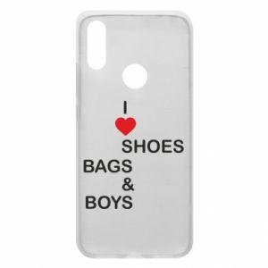 Etui na Xiaomi Redmi 7 I love shoes, bags, boys