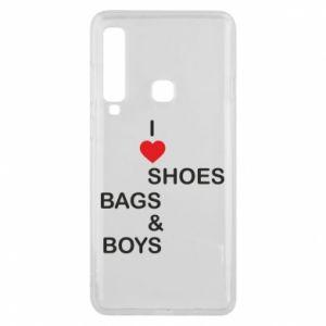 Etui na Samsung A9 2018 I love shoes, bags, boys