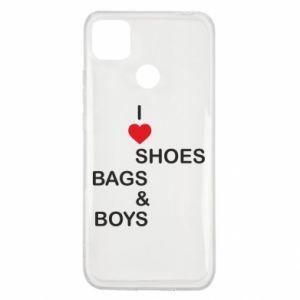 Etui na Xiaomi Redmi 9c I love shoes, bags, boys
