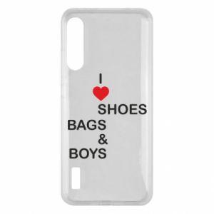 Etui na Xiaomi Mi A3 I love shoes, bags, boys
