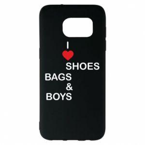 Etui na Samsung S7 EDGE I love shoes, bags, boys