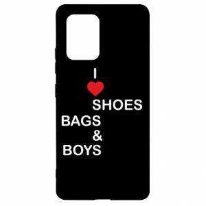 Etui na Samsung S10 Lite I love shoes, bags, boys