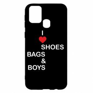 Etui na Samsung M31 I love shoes, bags, boys