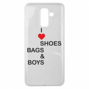 Etui na Samsung J8 2018 I love shoes, bags, boys
