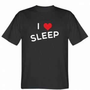 Koszulka I love sleep
