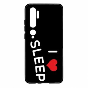 Etui na Xiaomi Mi Note 10 I love sleep