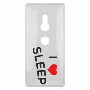 Etui na Sony Xperia XZ2 I love sleep