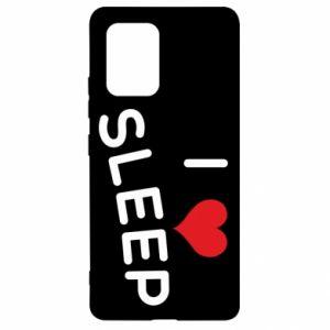 Etui na Samsung S10 Lite I love sleep