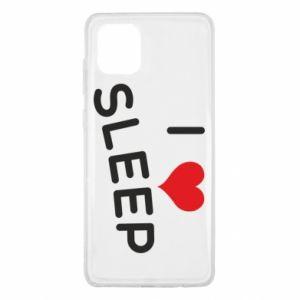 Etui na Samsung Note 10 Lite I love sleep