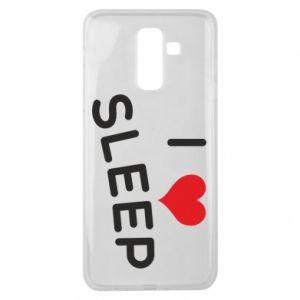 Etui na Samsung J8 2018 I love sleep
