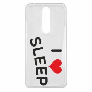 Etui na Nokia 5.1 Plus I love sleep